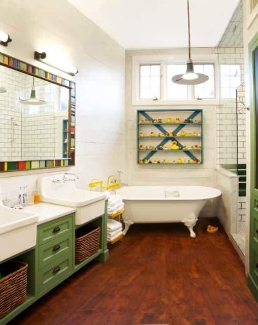 renovated old bathroom