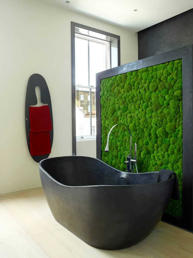 Bathroom - Living Wall