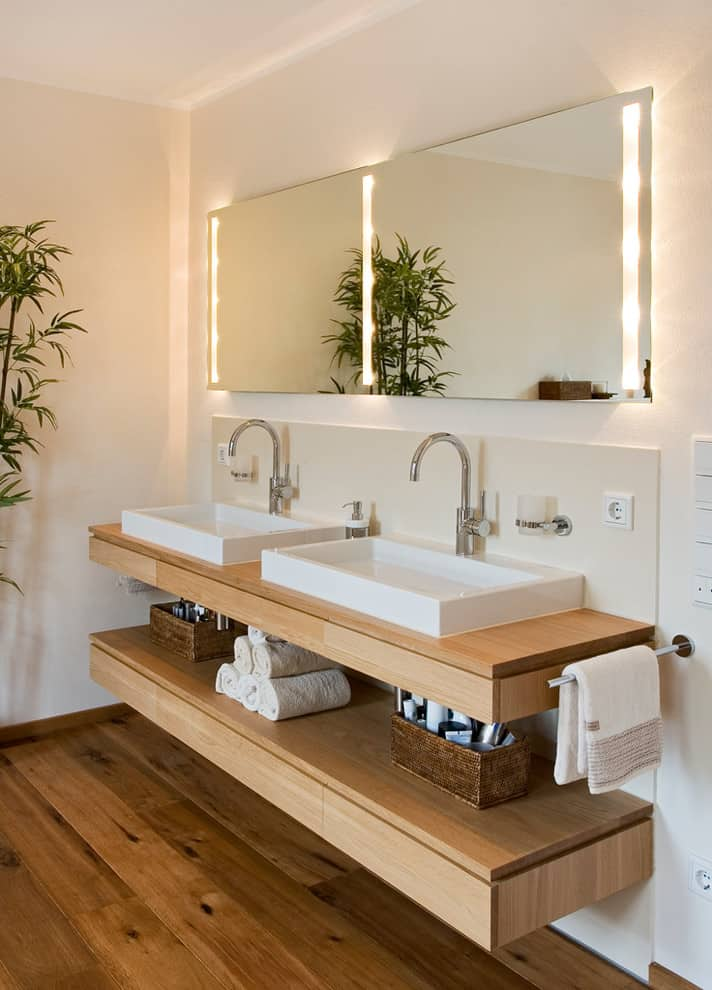 40 bathroom vanity ideas for your next remodel photos rh decorsnob com Modern Bathroom Vanities for Less Insignia Bathroom Vanities
