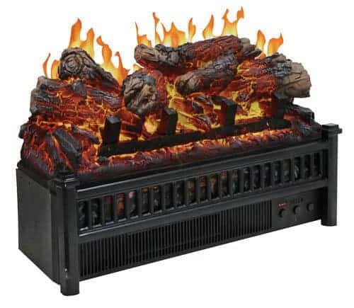 Cofort Glow Electric Log Set w Heater