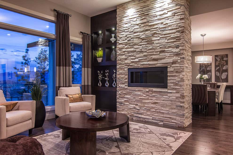 Cool 27 Best Fireplace Remodel Ideas To Makeover Your Fireplace Home Interior And Landscaping Ponolsignezvosmurscom