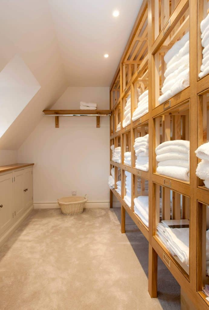 towel storage ideas with Lots of Towels, Lots of Storage