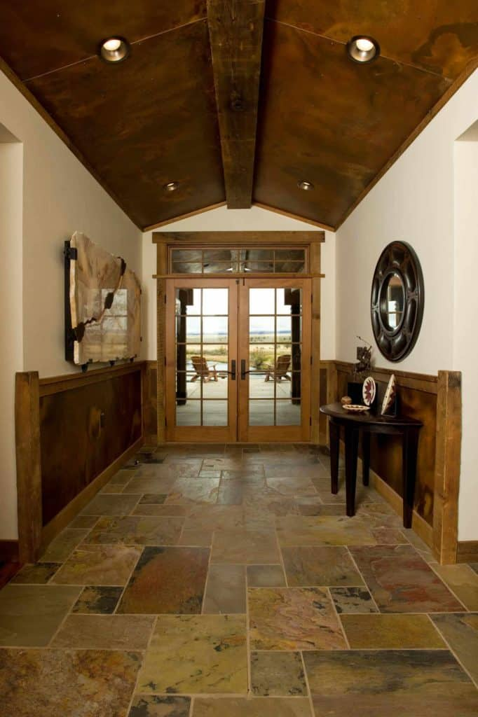 wainscotting ideas for entry hall