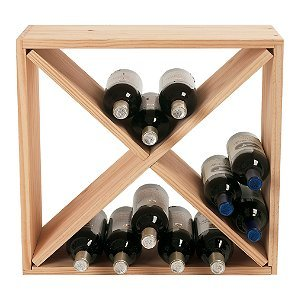 24 Bottle Compact Cellar Cube Wine Rack