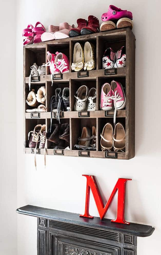 Wall-Mounted Shoe Storage Solutions