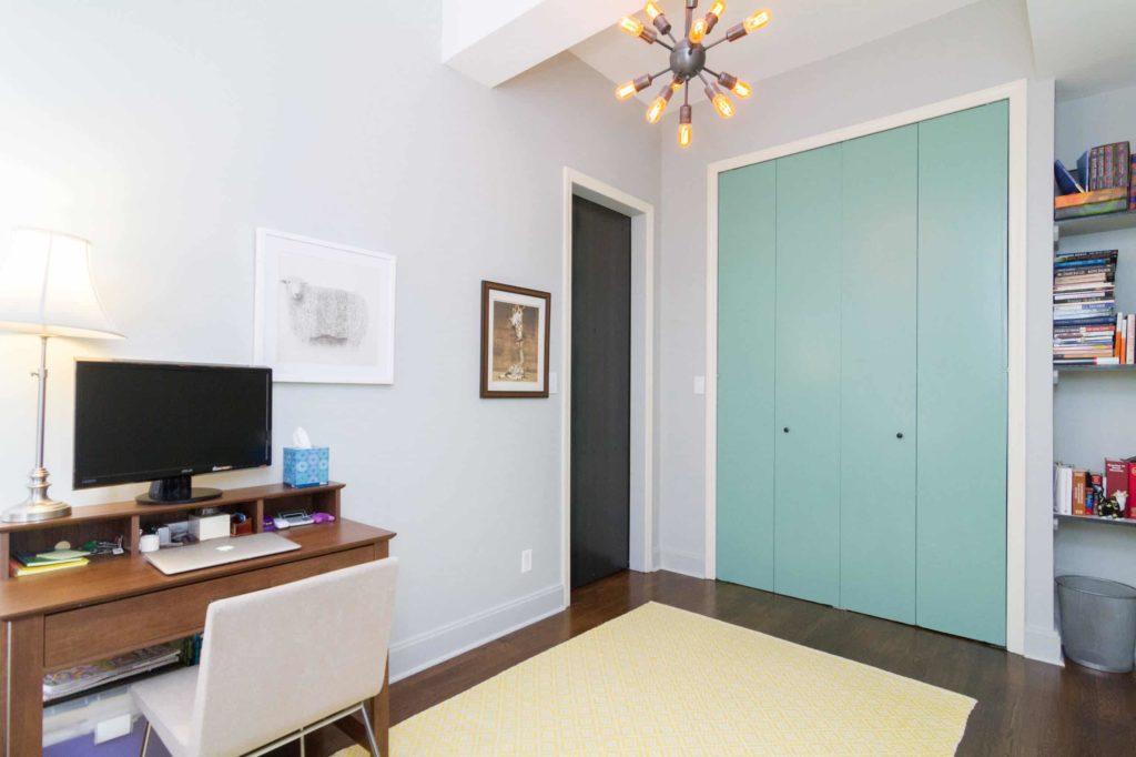 Elevated Bifold Closet Doors