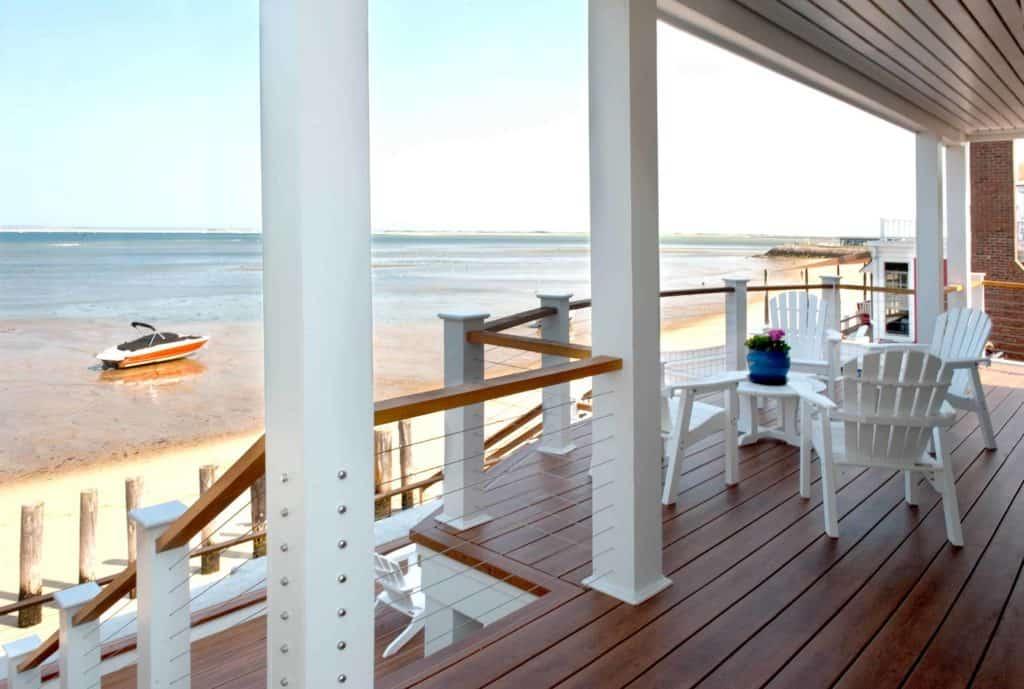 New England Beach House Balustrade