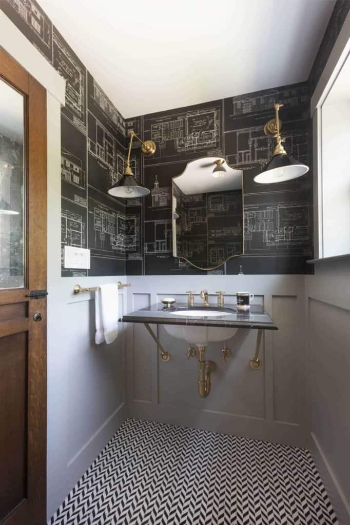 wainscotting bathroom ideas