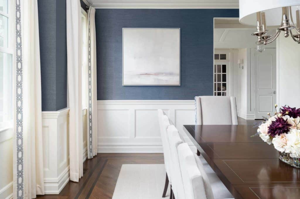 dining room wainscoting paint