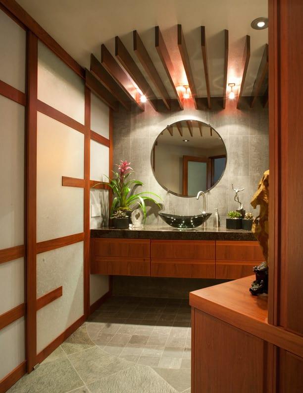 zen bathroom design in Los Angeles