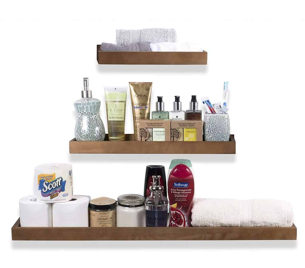 Variable Size Floating Shelves