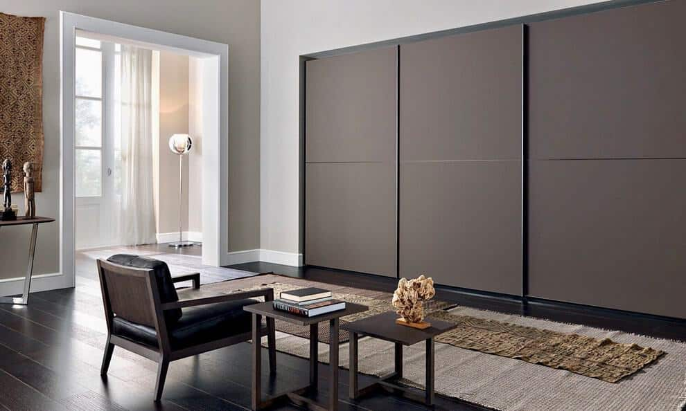 Flat Panel Reach-In Closets