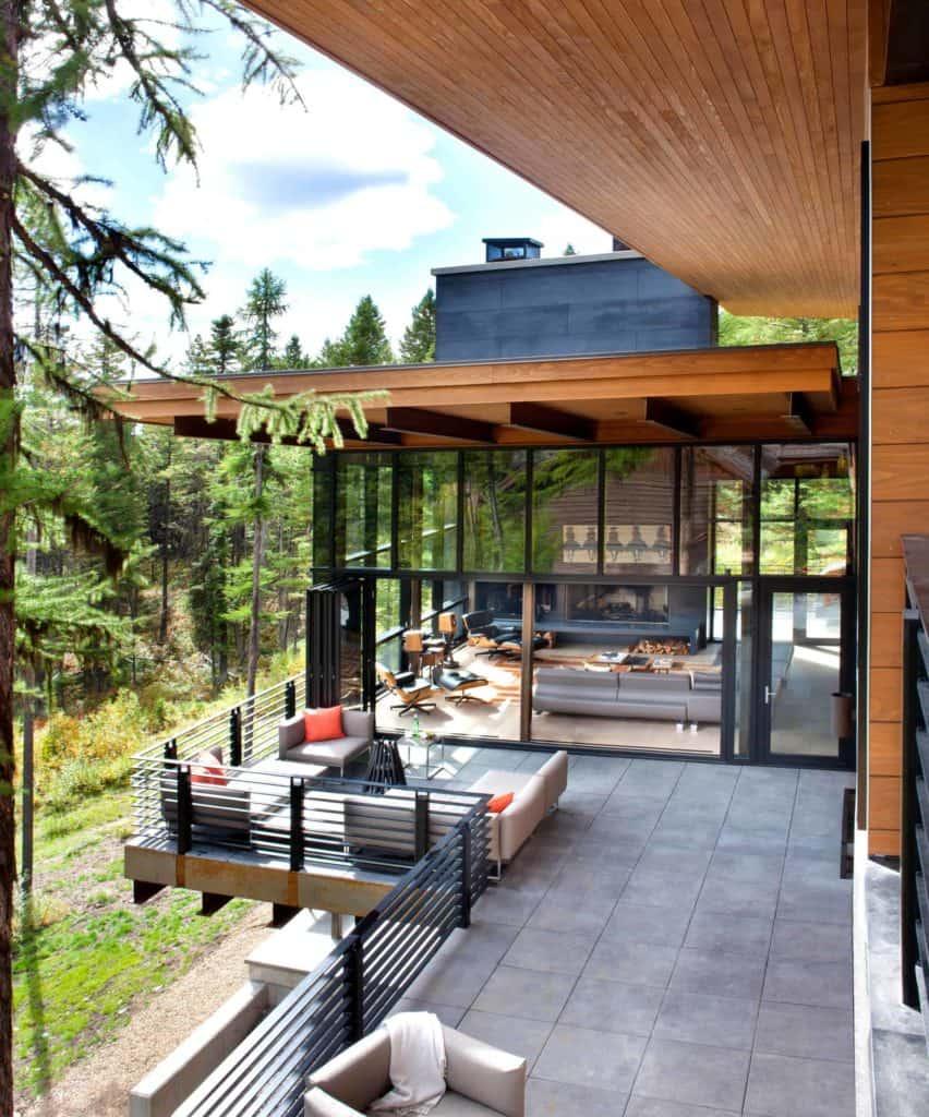 No-Fuss Modern Metal Deck Railing Ideas