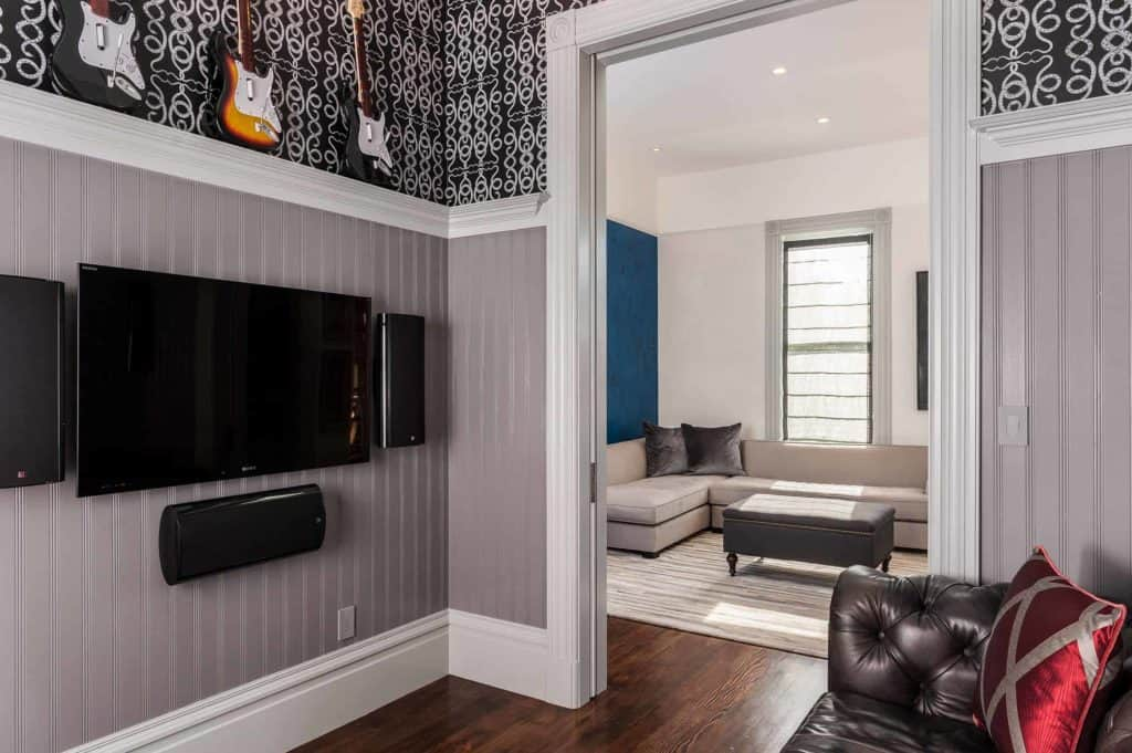 wainscoting ideas for family room