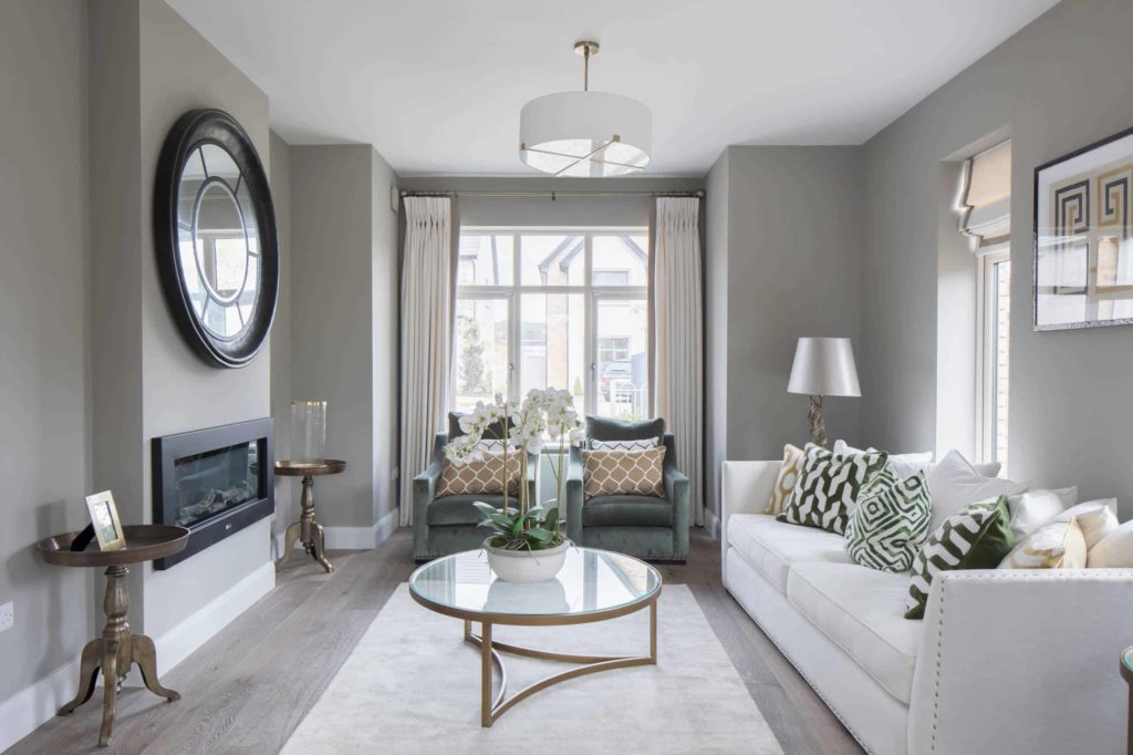 What are the most popular shades of grey paint for a living room?