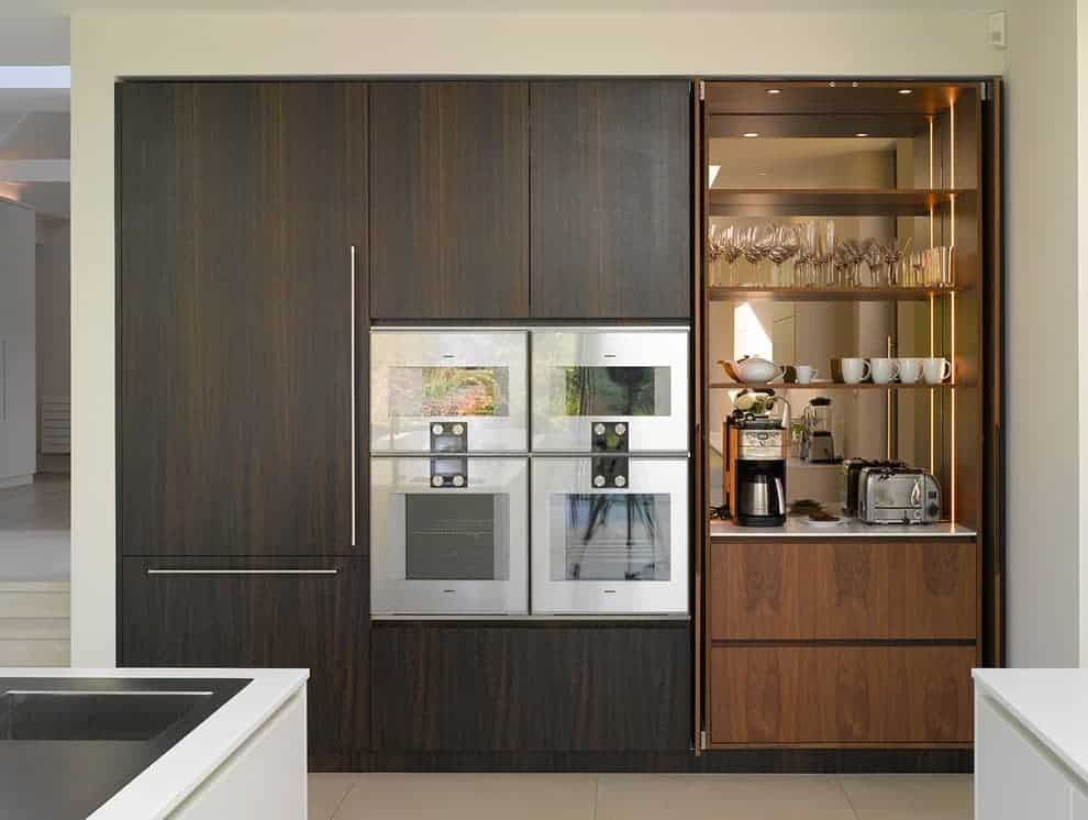 A Coffee Bar to Open the Room