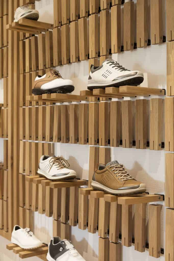 Wall-Mounted Shoe Storage