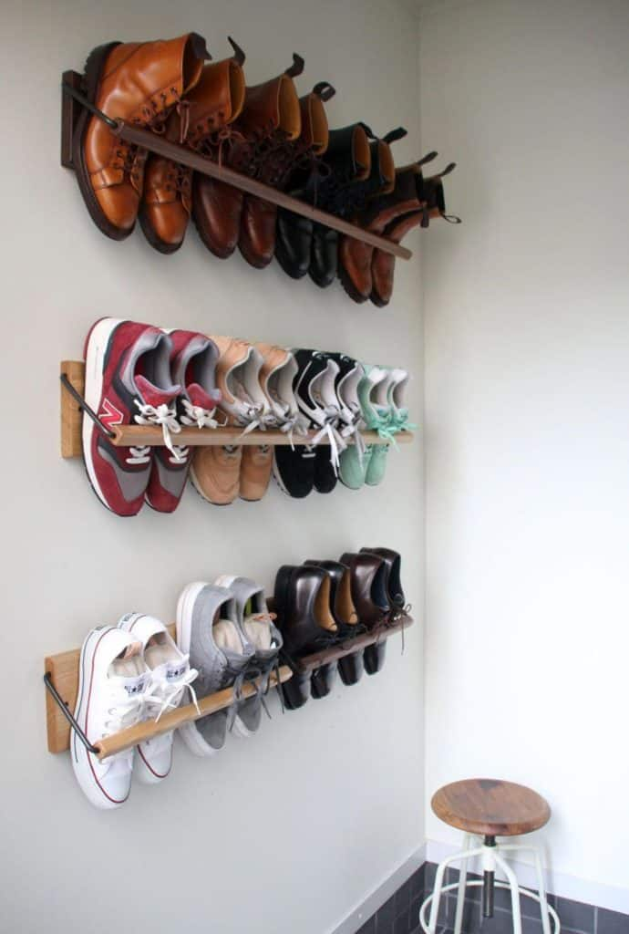 A Custom Shoe Hanger