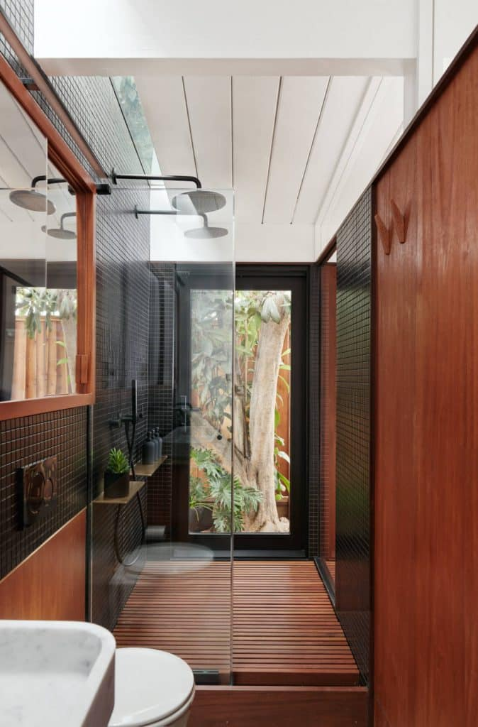 zen bathroom design in Portland