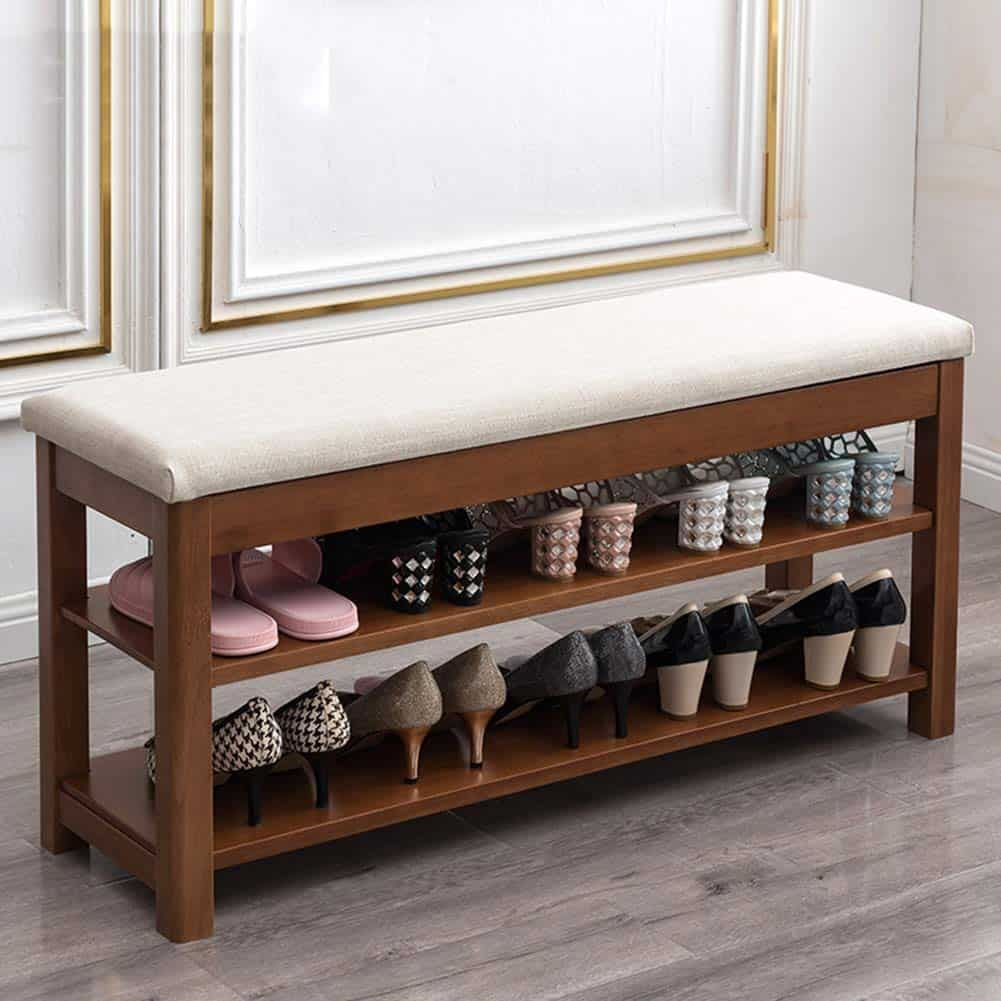 Entryway Seating Shoe Storage Ideas