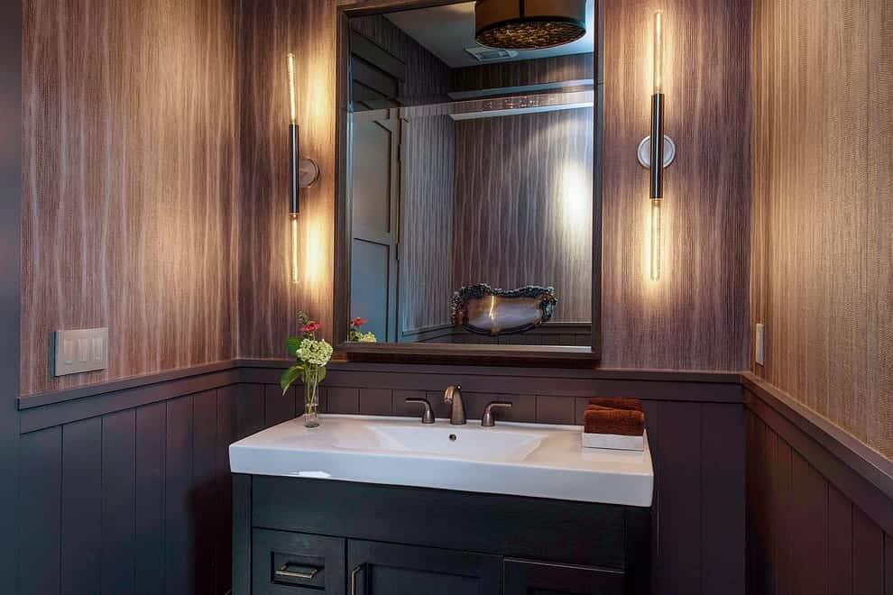 bathroom wainscotting ideas