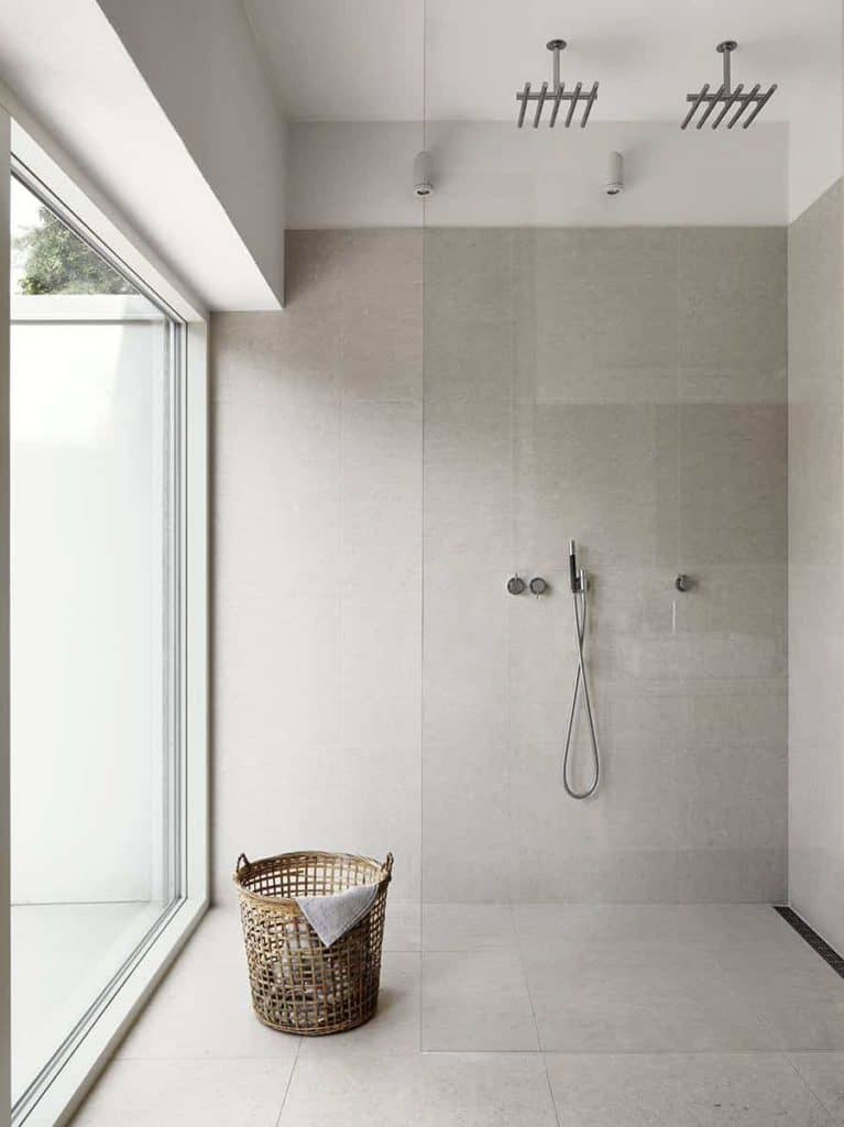 Single Pane bathroom designs with walk in shower