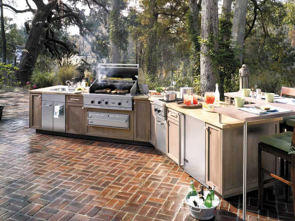 Outdoor Kitchen Cabinets Are For More Than Storage
