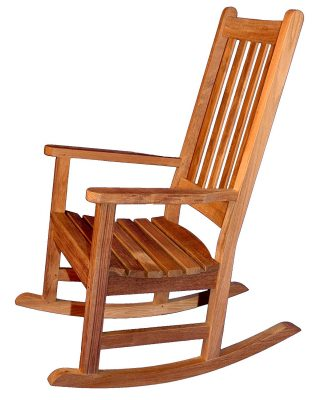 Teak Carolina Rocker - PAIR