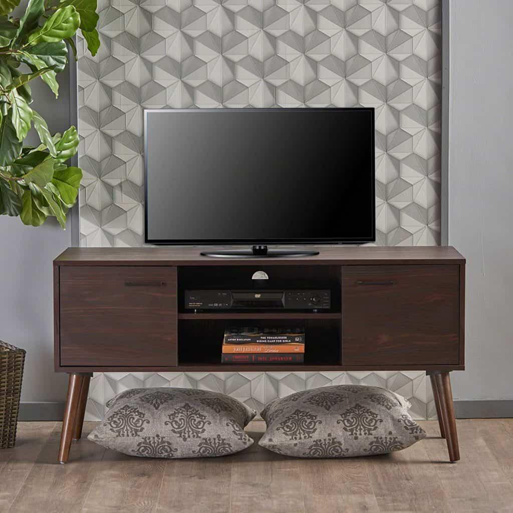 Amal Mid Century Modern TV Stand