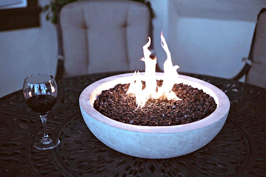 Artisan Crafted Table Top Fire Bowl