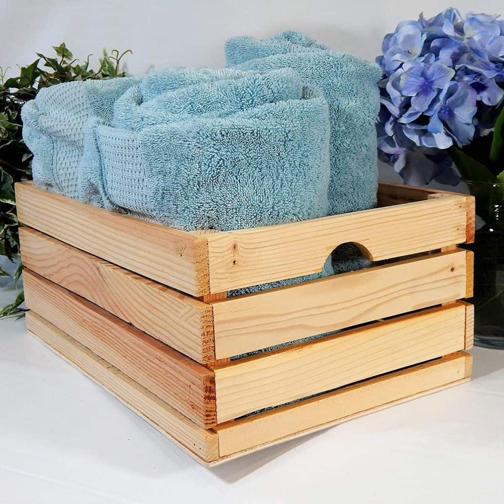 At Home On Main Handmade Rustic Crates