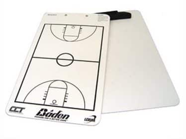 Baden Dry Erase Basketball Game Board with Clipboard and Pen