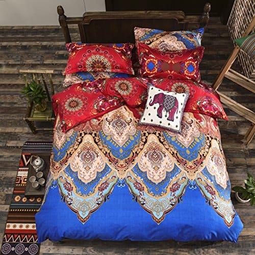 LELVA Bohemian Ethnic Exotic Style Bedding