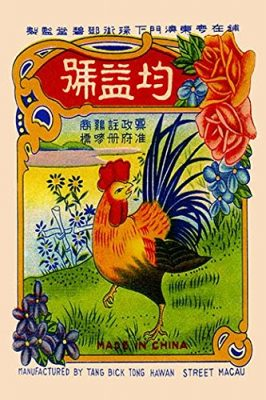 Buyenlarge Rooster by The River Firecrackers - Gallery Wrapped 44X66