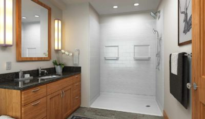 Can I Paint My Fiberglass Shower Stall