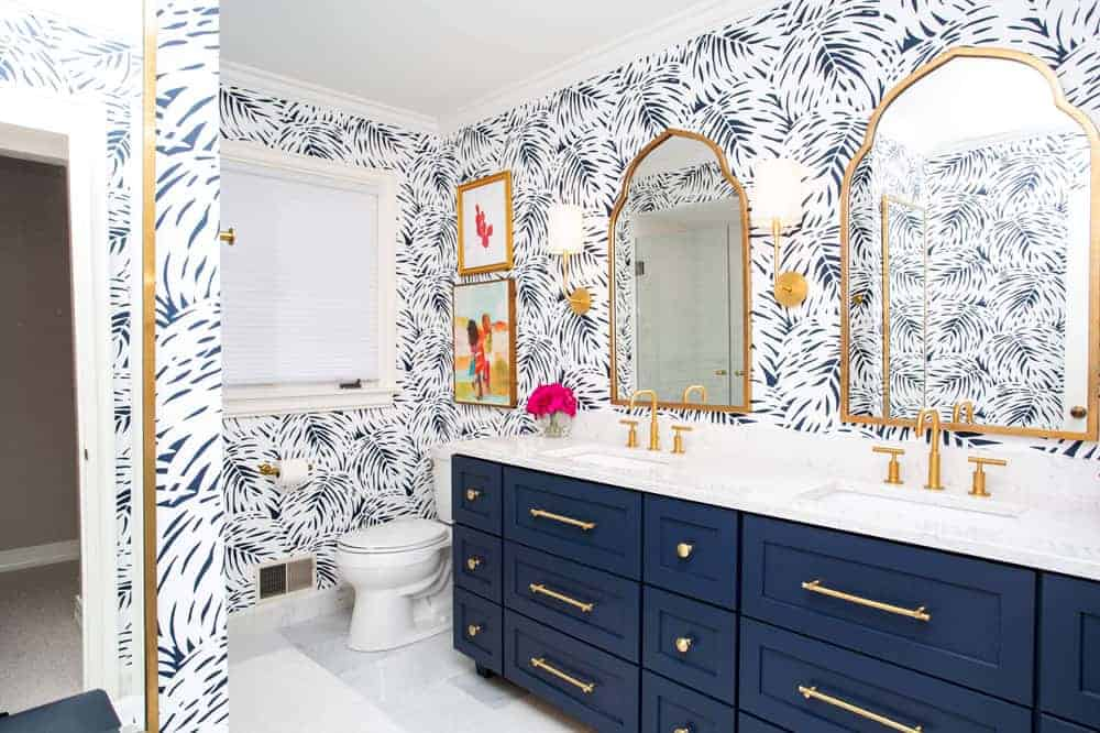 Can I Use Normal Wallpaper in a Bathroom