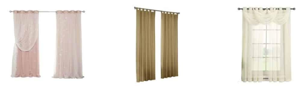 blinds with curtains decor