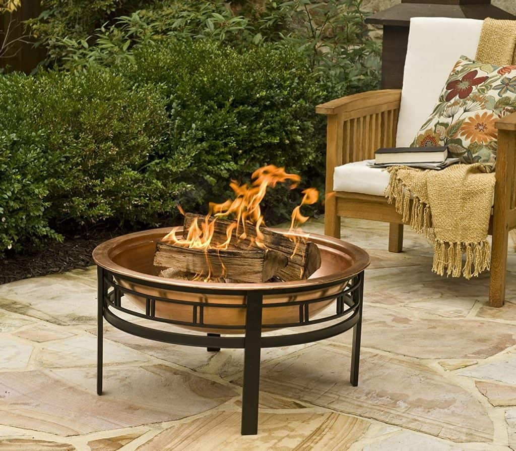 CobraCo Copper Mission Fire Pit