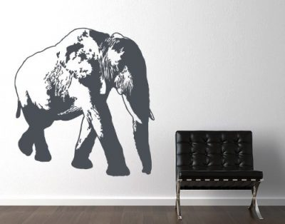 Elephant Wall Decal by Style & Apply
