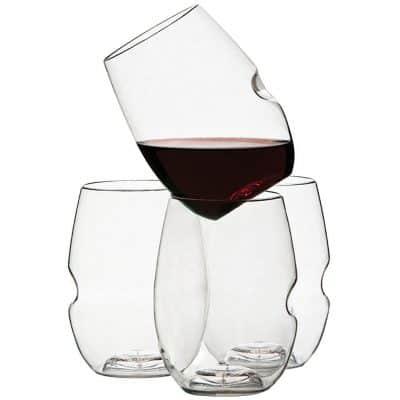 Govino Wine Glass Flexible Shatterproof Recyclable