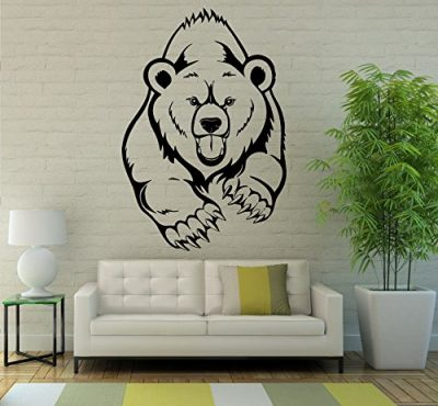 Grizzly Bear Wall Vinyl Decal
