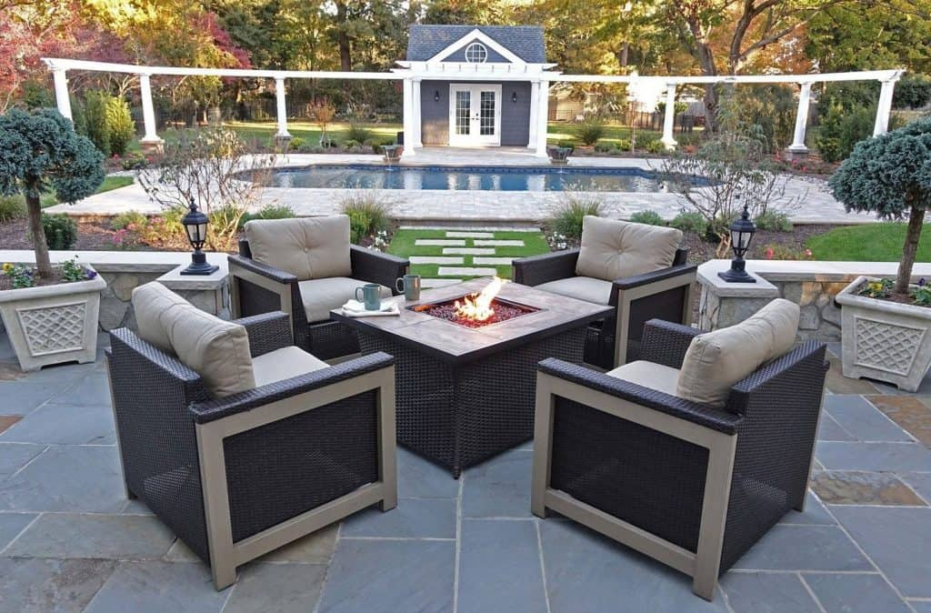 Hanover Montana 5 Piece Fire Pit
