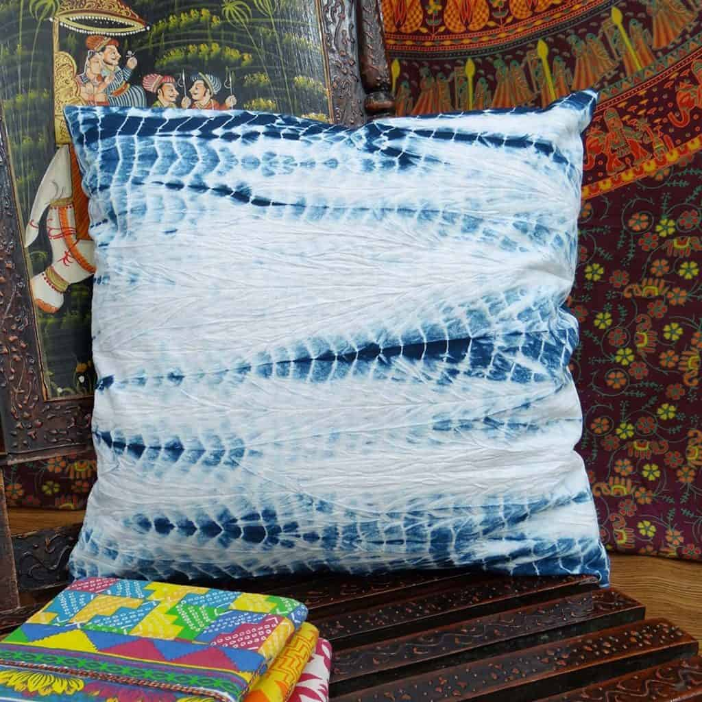 Home Decor Throw Pillow Tie Dye Print Decorative Cushion Cover