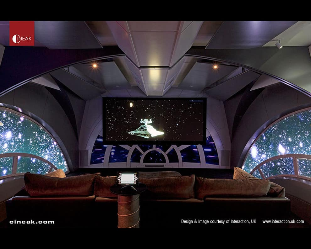 Home Theater Star Wars by Cineak
