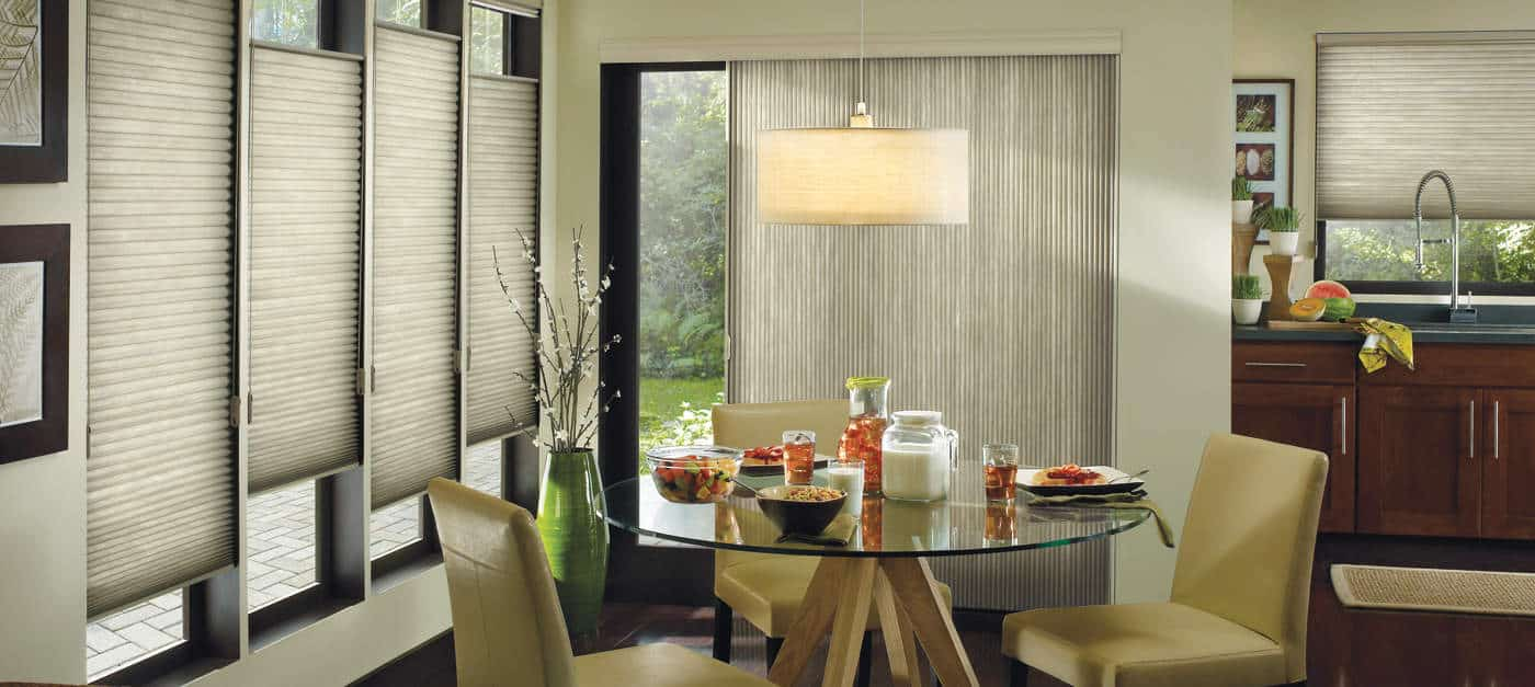 Hunter Douglas Applause Sunterra kitchen