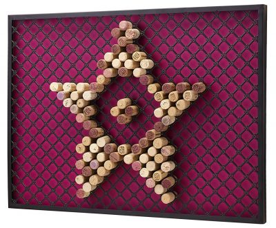 Jokari Wine Cork Wall Frame
