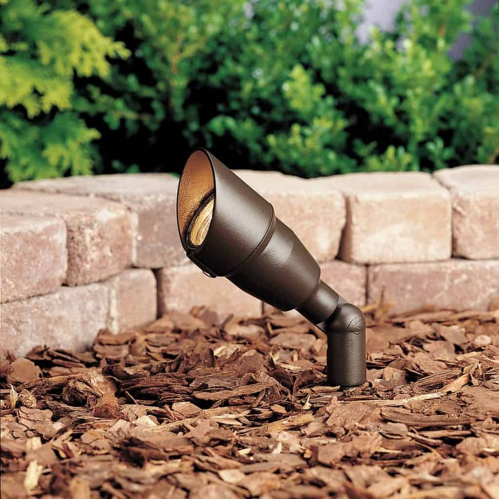 Kichler Lighting 15374AZT20L24 12-Volt Low Voltage Mini-Accent Light - landscape lighting ideas