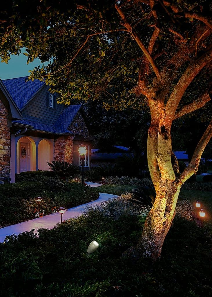 Malibu 35 Watt Floodlight - landscape lighting ideas
