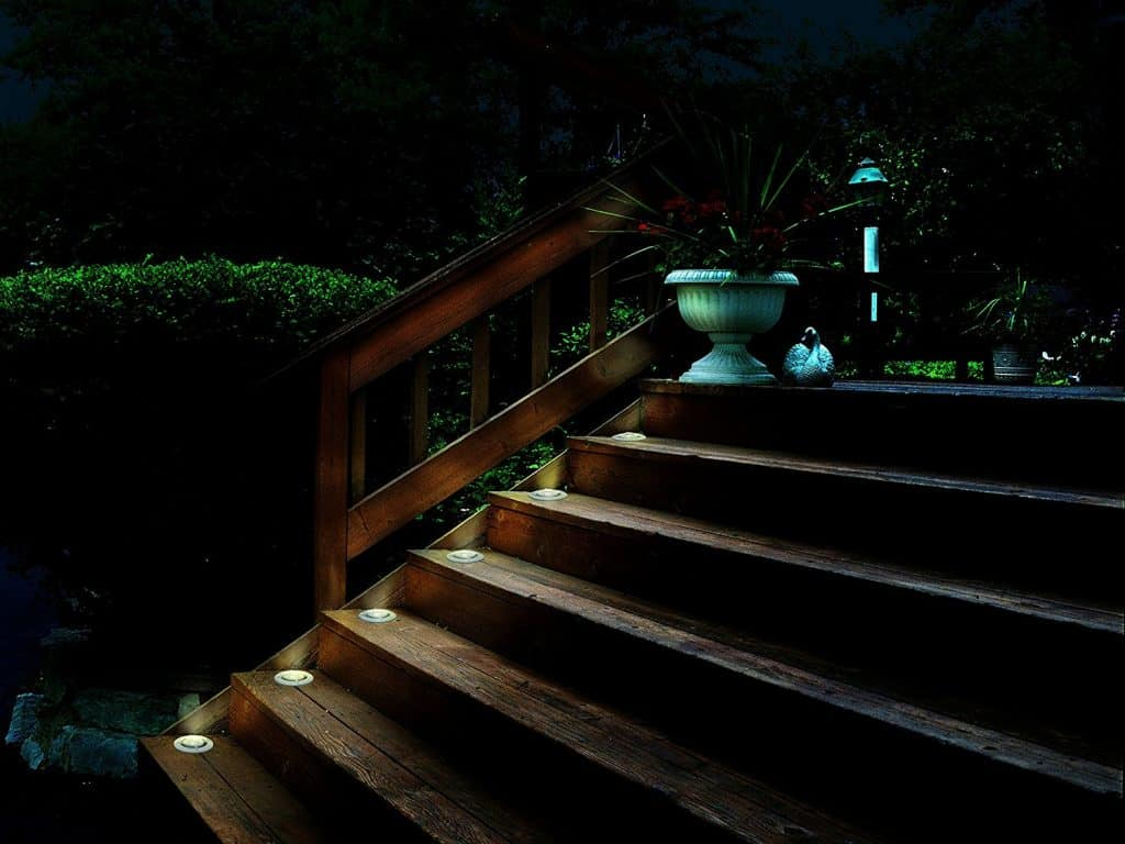 Malibu 6 PK LED Deck Lights - landscape lighting ideas