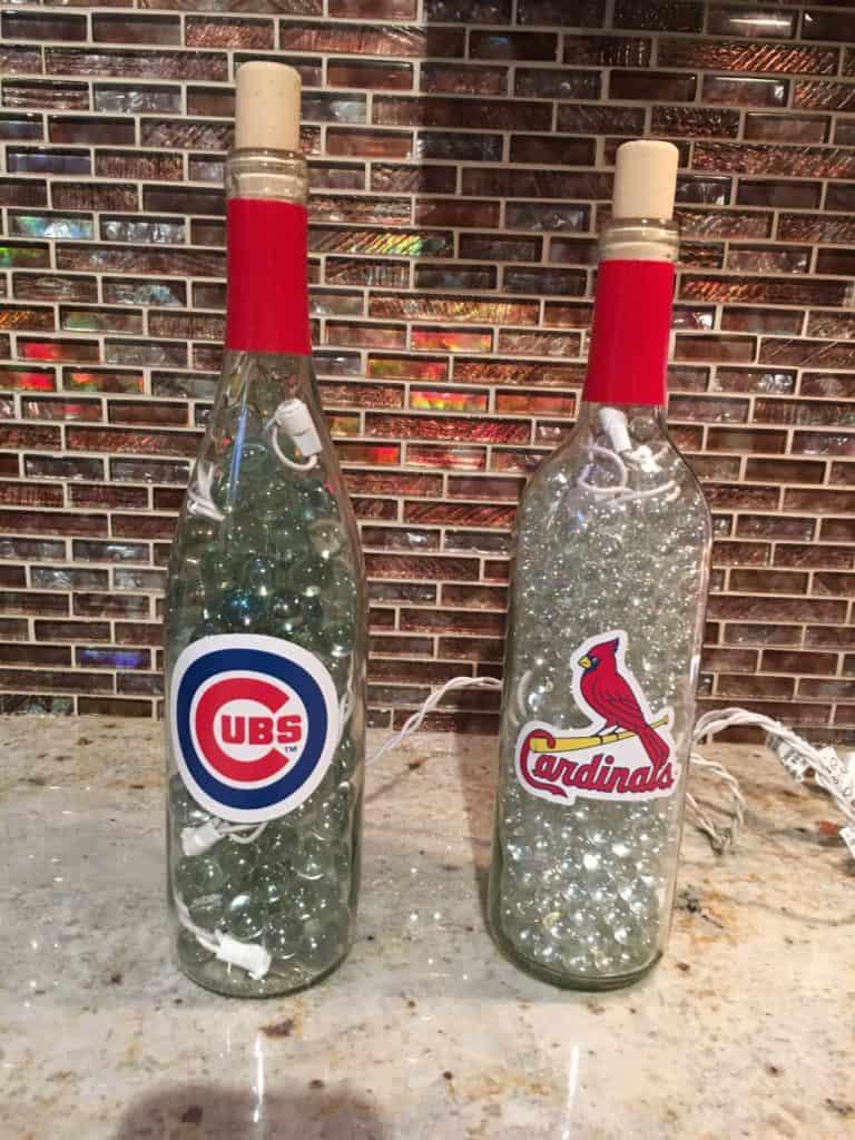 Marble Filled Bottles